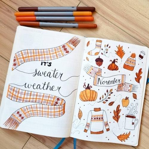 November doodles
