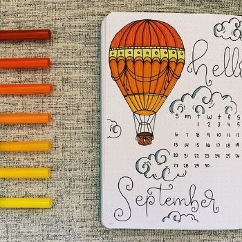 September bullet journal ideas