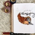 14 Thanksgiving Bullet Journal Page Ideas
