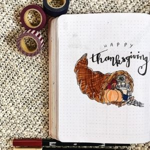 THANKSGIVING BULLET JOURNAL
