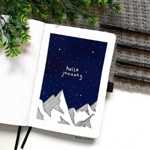 January Bullet Journal Ideas