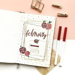 February Bullet Journal Ideas
