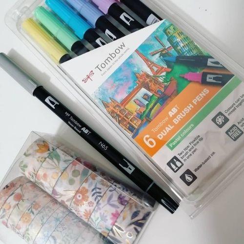 Spring-bullet-journal-color-palette
