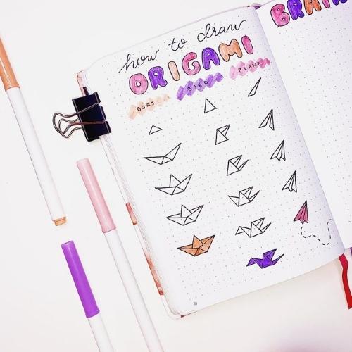 Easter bullet journal doodles
