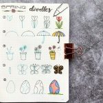 19 Spring Bullet Journal Doodles To Try In 2021