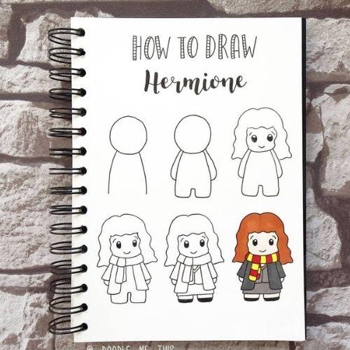 Hermione doodle ideas
