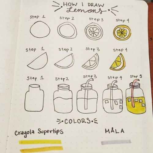 Step By Step Lemon Doodles