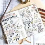 Harry Potter Bullet Journal Doodles- Step by Step Tutorials for 2021