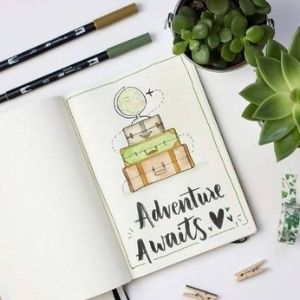 travel bullet journal ideas