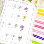 Ultimate Guide to Step by Step Bullet Journal Flower Doodles 2021
